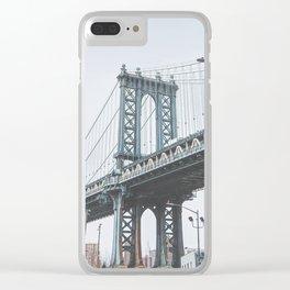 Dumbo Brooklyn New York City Clear iPhone Case