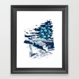 Release the Kindness Framed Art Print