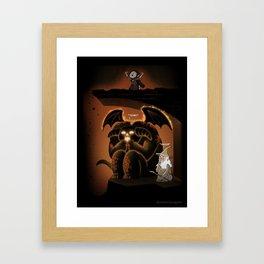 Wizardly Shenanigans Framed Art Print