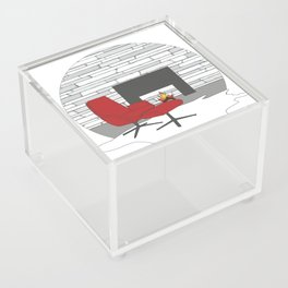Happy Holidays Acrylic Box