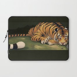Tiger in Waiting Laptop Sleeve