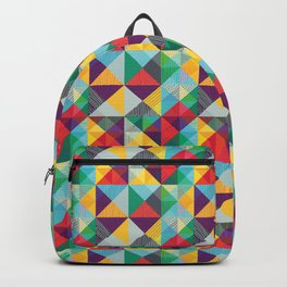 TRIANGLES ETNO Backpack
