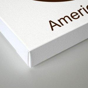 American Bronze Canvas Print