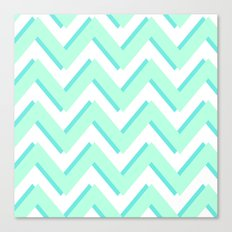 3D CHEVRON Canvas Print