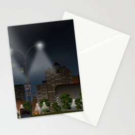 Elm City Green Stationery Cards