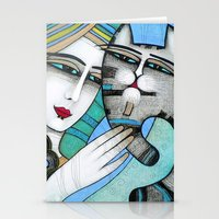 hug Stationery Cards featuring HUG by ALBENA
