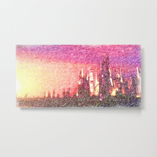 Alteran sunset Metal Print