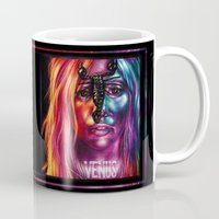 venus Mugs featuring VENUS by Denda Reloaded