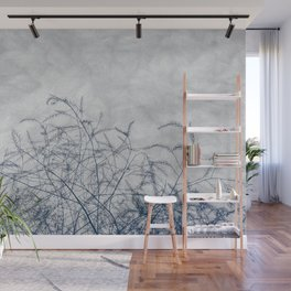 Decorative and Elegant Weeds Wall Mural