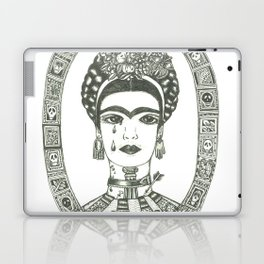 Frida Kahlo - Message of Pain Laptop & iPad Skin