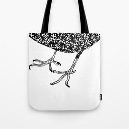 Crooked Feet  - Bird Anatomy  Tote Bag