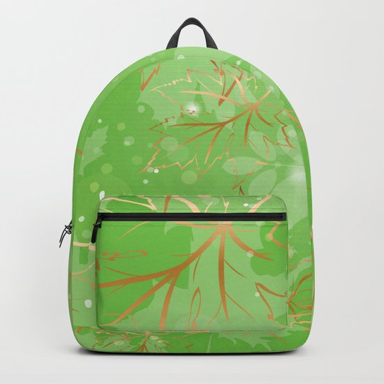 Leafy Background VIII Backpack