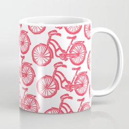 roule ma poule - wanna ride my bicycle red Coffee Mug