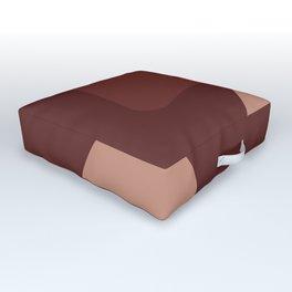 Coffe Outdoor Floor Cushion