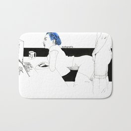 BlueHair Live Bath Mat