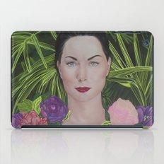 Peony portrait iPad Case