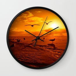 The Pilgrimage Wall Clock