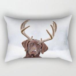 White wonder Rectangular Pillow