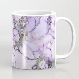 Lavender Marble Coffee Mug