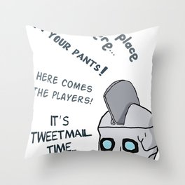 Geoff Peterson´s Catchphrases Throw Pillow