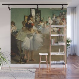 The Dance Class, Edgar Degas  Wall Mural