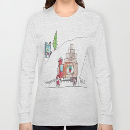 Sodor Deliveries Long Sleeve T-shirt