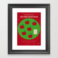 No807 My The Cider House rules minimal movie poster Framed Art Print