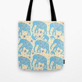 Elephants #GR1 Tote Bag