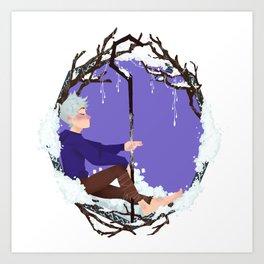 Jack Frost Circlet Art Print