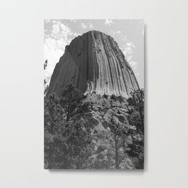 Devils Tower Metal Print