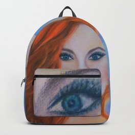 Glamorous Redhead Jessica Rabbit Backpack