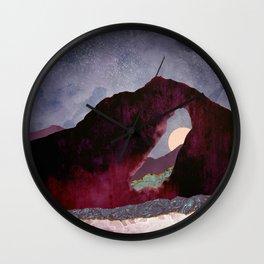 Desert Perspective Wall Clock