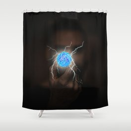 Energy Ball by GEN Z Shower Curtain