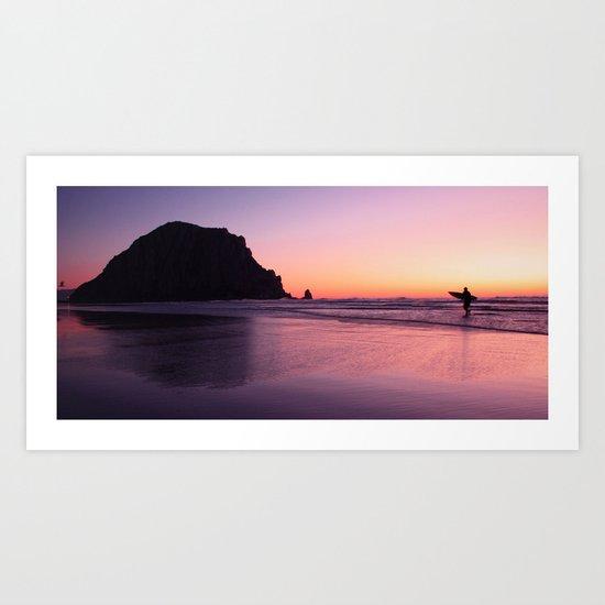 morro soul surfer Art Print