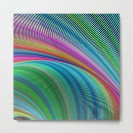 Colorful distortion Metal Print