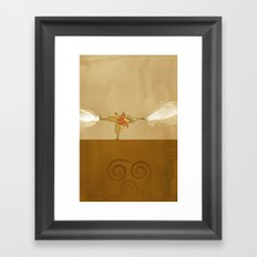 Avatar Aang Framed Art Print