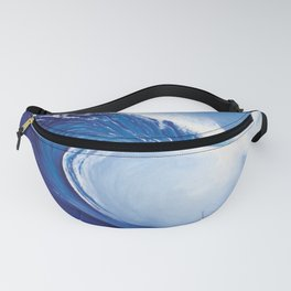 Ocean Wave Painting Fanny Pack