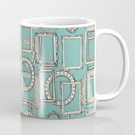 picture frames aplenty indigo duck egg blue Coffee Mug
