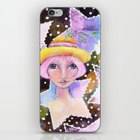sassy iPhone & iPod Skins featuring Sassy Girl by Judy Skowron