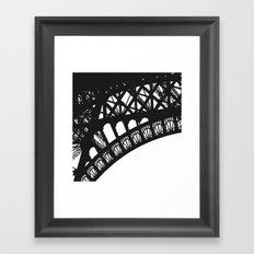 Eiffel Detail Framed Art Print