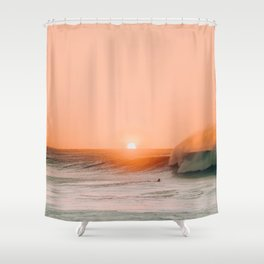 Sunset Ocean (Color) Shower Curtain