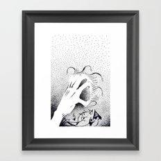 To Grasp Creativity Framed Art Print