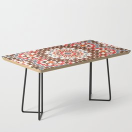 N64 - Traditional Geometric Moroccan Vintage Style Artwork Coffee Table