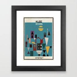 klee+kahn Framed Art Print