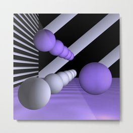 3D-geometry -8- Metal Print