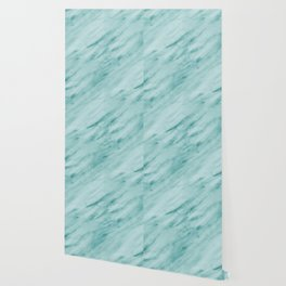 Audace Turchese green marble Wallpaper