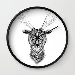 Elilia Stag Wall Clock