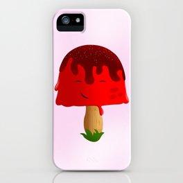 Frozen Mushroom iPhone Case