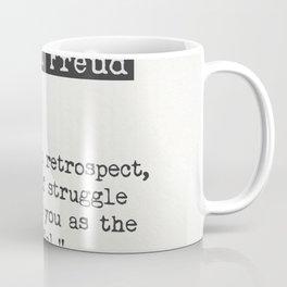 Sigmund Freud quote Coffee Mug