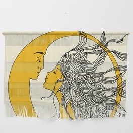 Sun and Moon Wall Hanging